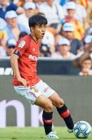 久保建英(マジョルカ)4大リーグ日本人最年少出場記録樹立か?