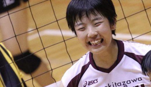 舟根綾菜(女子バレー/ミライモンスター)かわいい(画像)!?カップや彼氏や今後の進路は?